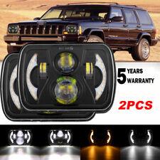 "2pcs 7x6""LED Headlight Hi/Lo Projector Kit Fit For Express Savana 1500 2500 3500"