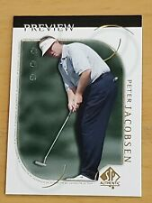 2001 Upper Deck SP Authentic Preview #15 Peter Jacobsen