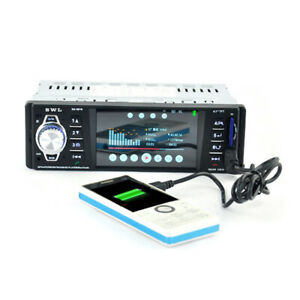 1Din Bluetooth Car MP5 Player MP3 Card Machine Radio Support Rear View Function