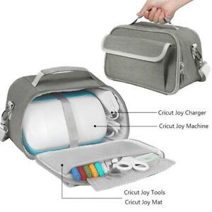 Portable Handbags Carry Case Box Storage Shulder Bag with Pocket for -Cricut Joy