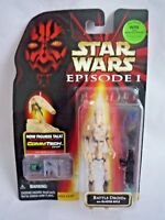 STAR WARS EPISODE 1 / BATTLE DROID / COMM TECH FIGURE WITH CHIP / SEALED