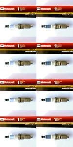 New SET OF 8 Motorcraft Platinum Spark Plugs