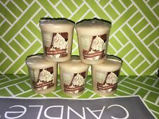 5x Cinnamon Meringue Yankee Candle 49g Votives - Brand New Genuine