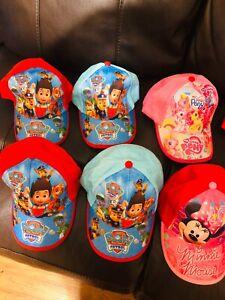 Gorras De Disney De Girls And Boys. Frozen, Minor Mouse, Sophia, Avengers, Otros