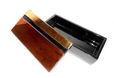 VTG Rosenthal Netter Italian Ceramic Black, Gold, Bronze Jewelry Trinket Box
