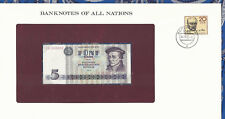 Banknotes of All Nations GDR East Germany 1975 5 Mark UNC P 27a IH368663