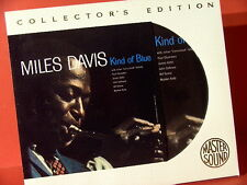 "MILES DAVIS "" KIND OF BLUE "" (AUDIOPHILE SONY-24KARAT-GOLD-CD/LIKE NEW=NEARMINT)"