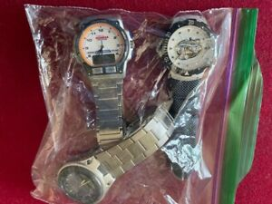 Lot of Men's Watch Timex Iron Man, Game Time World Series 2003 & Casio