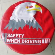 Eye-Catching Red Car Spare Wheel Tire Cover Bag Protector 28~29 M for RAV4 CR-V