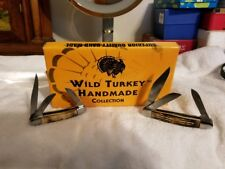Wild turkey Hand made collection Pocket Knives