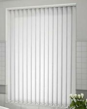 Optic white 127mm PVC Replacement Vertical Blind Slats Length1090mm x 15 Slats