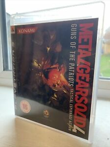 66141 Metal Gear Solid 4 Guns Of The Patriots - Sony PS3 Playstation 3 (2008) BL