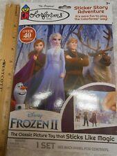 Original Colorforms Frozen 2 Sticker Story Adventure Brand New **FREE SHIPPING**