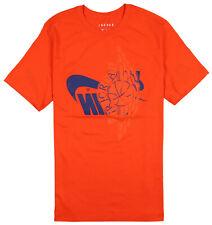 JORDAN x Nike Air Futura Wings T-Shirt 2XL XX-Large Orange Royal Blue Wings Max