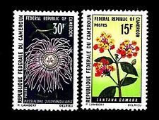 CAMEROUN - CAMERUN (REP. INDIP.) - 1970 - Fiori - Lantana camara - Passiflora