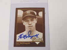 Gil McDougald Autographed Baseball Card
