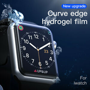 Hydrogel Film For Apple Watch Series 6 5 4 3 SE 44MM Screen Protector Full Cover