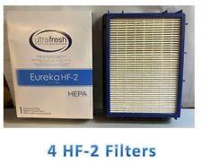 4 Pack Eureka HF2 HEPA Vacuum Filter 61111, 61495, 62880. By Electrolux HCP