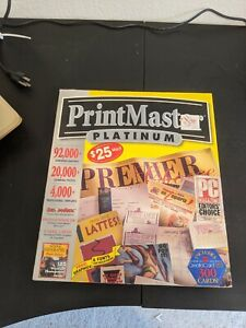 *Vintage* Print Master Platinum Version 4.0 Complete in Box