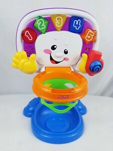 Fisher Price Laugh and Learn Learning Basketball Set Toy Lights Sound and Ball