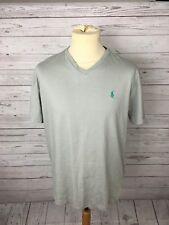 Men's Ralph Lauren T-Shirt - Medium - Grey - Great Condition