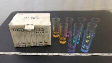 Libbey Troyano Colors Shot Glass Set, 9-Piece