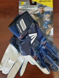 Easton Walk Off Batting Gloves - STARS/STRIPES - Medium