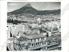 1942 Cape Town South Africa View Of City & Lion Head In Background Press Photo