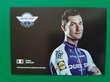CYCLISME carte cycliste FABIO SABATANI équipe QUICK STEP FLOORS 2018