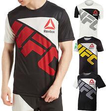 Mens Reebok UFC Jersey UFC Official Fighter Kit Jersey MMA Fan Apparel NEW
