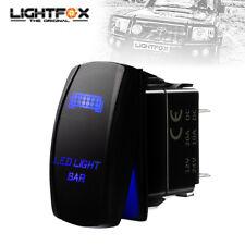 Led Light Bar Rocker Switch Laser Etched Work Light Bar 4wd Ute 12v 24v