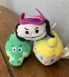 Peter Pan Tsum Taum Captain Hook Tic Tock Croc And Tinker Bell