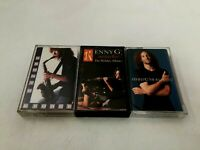 Kenny G The Moment, Miracles, G Force Cassette Tape Lot of 3