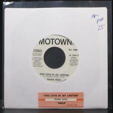 "Diana Ross - One Love In My Lifetime 7"" Mint- Promo Vinyl 45 Motown M 1398 F"