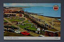 R&L Postcard: Royal Parade Eastbourne with 1960's Classic Cars Austin A30 Elgate