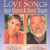 ANNE MURRAY & KENNY ROGERS Love Songs 2CD BRAND NEW