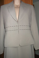Suit jacket skirt and trousers size 10 euro 38