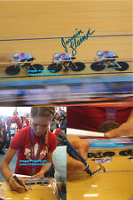 Jasmin Glaesser Signed 2012 London Olympics Canada Pursuit Cycling Bronze Photo