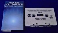 Andreas Vollenweider Down To The Moon 12 track 1986 CASSETTE TAPE