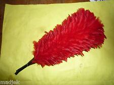 Plumet di colore rosso per casco Corazziere, verso 1880-1900 environ.Lot 3