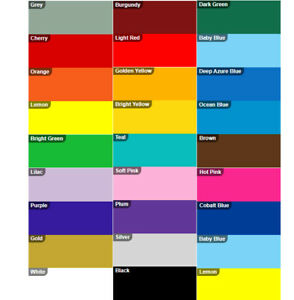 Polymeric Self Adhesive A4 Sheets - Gloss Sign Vinyl Sign Making - Craft Cameo