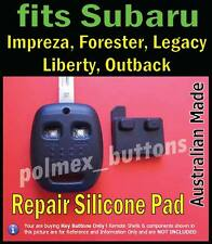 fit Subaru Forester Outback-2 key Buttons Repair Pad for integrated key & remote
