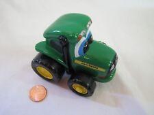 ERTL JOHN DEERE Green Diecast FARM TRACTOR Funny Cartoon Dog Face Toy Vehicle