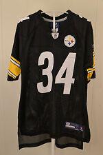 Reebok Pittsburgh Steelers Jersey #34 Rashard Mendenhall NFL Kids Large (14-16)