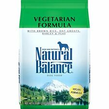 Natural Balance Vegetarian Formula Dry Dog Food 4.5-Pound