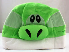 Super Mario Bros. Green Yoshi Plush Warm Hat Cosplay Costume Cap Gift One Size