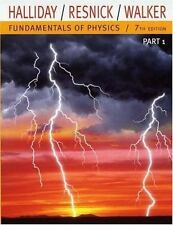 Fundamentals of Physics, Part 1 (Chapters 1-11) (Chapters 1-11 Pt. 1) Halliday,