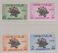 Pakistan-Bahawalpur 1949 Official UPU SET COMPLETE MLH. SG O28b-O31 Mounted Mint