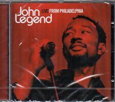 JOHN LEGEND - LIVE FROM PHILADELPHIA - CD (NUOVO SIGILLATO)