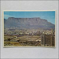 Modern Parking Area on top New Station Cape Town South Africa Postcard (P437)